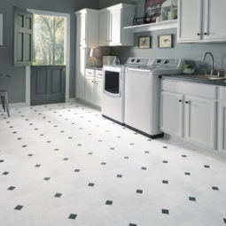 Mannington Vinyl Empire_Carrara_White_130360_RS